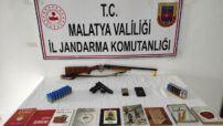Akçadağ ilçesinde DHKP/C terör örgütü propagandası yaptıkları tespit edilen 2 şahıs gözaltına alındı
