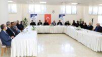 Battalgazi Belediye Başkanı Osman Güder, 11 mahalle muhtarıyla bir araya geldi