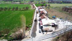 Battalgazi Belediyesi, Hasırcılar mahallesinde toplam 10 kilometrelik sathi kaplama asfalt çalışmalarına başladı.