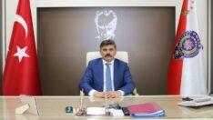 Sayın İl Emniyet Müdürünün Türk Polis Teşkilatının 176. Kuruluş Yıldönümü Kutlama Mesajı