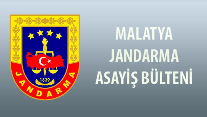 Malatya Asayiş Bülteni 25 Mayıs 2021