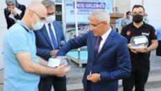 Gelincik Tepesi'nde yapılan 1.Etap 678 konutun anahtar teslim töreni Battalgazi Belediyesi yanında düzenlendi.
