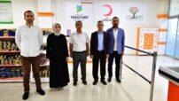 Yeşilyurt Belediye Başkanı Mehmet Çınar, Kurban Bağışını Türk Kızılay'ına yaptı.